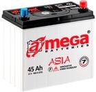 A-mega Asia  45 JR стартерная аккумуляторная батарея