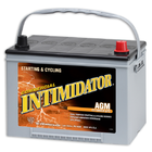 Deka INTIMIDATOR  9A34R AGM (75Ah, 775A, 260x170x205mm)
