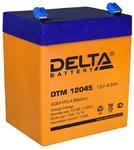 Delta DTM 12045 AGM аккумуляторная батарея