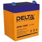 Delta DTM 1205 AGM аккумуляторная батарея
