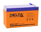 Delta DTM 1207 AGM аккумуляторная батарея