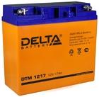 Delta DTM 1217 AGM аккумуляторная батарея