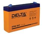 Delta DTM 607 AGM аккумуляторная батарея
