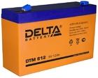 Delta DTM 612 AGM аккумуляторная батарея
