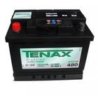 Аккумуляторная батарея TENAX 56Ah 480A обр. (556 400 048) High Line Тенакс
